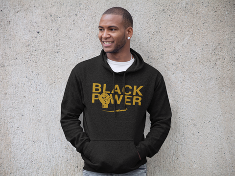 Huey P Newton Inspired Black Power Hoodie