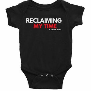 Reclaiming My Time  - Maxine's Mantra Short sleeve t-shirt (all sizes)