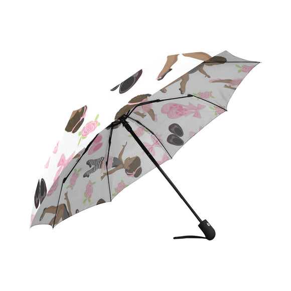 Black Ballerina Umbrella