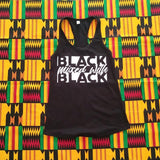 Black Mixed With Black Tee/Tank