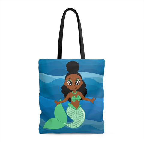 Locs Mermaid Tote Bag