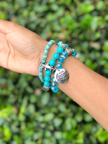 Travelista Travel Themed Bracelet Set