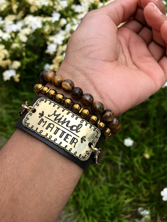Mind Over Matter Bracelet Set