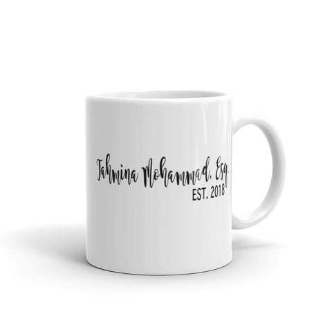 Custom Lawyer Name Mug