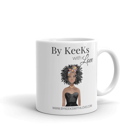 By KeeKs With Love Signature Mug - God is within her Mug