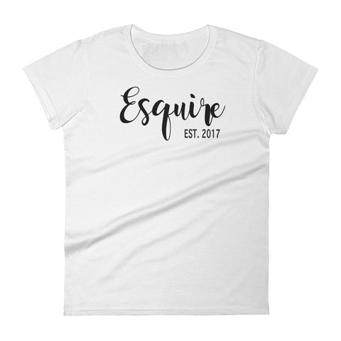 Esquire - Official attorney shirt (multiple colors)