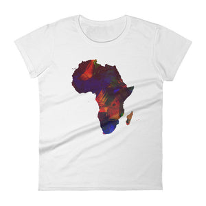 Mama Africa - Women's Short Sleeved Shirt
