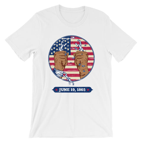 Juneteenth Short-Sleeve Unisex T-Shirt