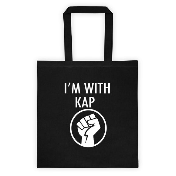 I'm With Kap - Tote bag