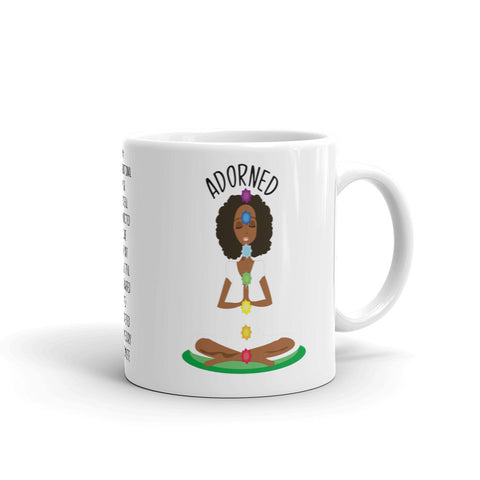 Adorned Personalized Meditation Mug