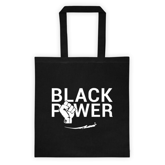 Huey P Newton Inspired Black Power Canvas Tote bag
