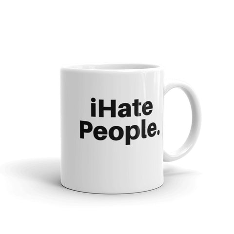 iHate People Mug