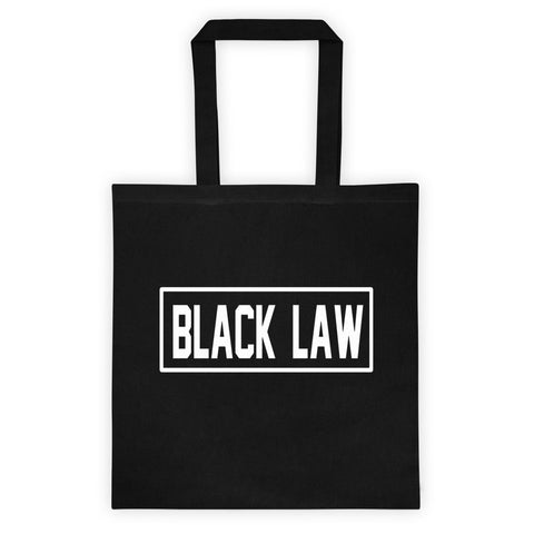 Black Law - Jurist Tote bag