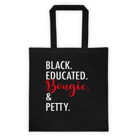 Bougie & Petty Tote bag