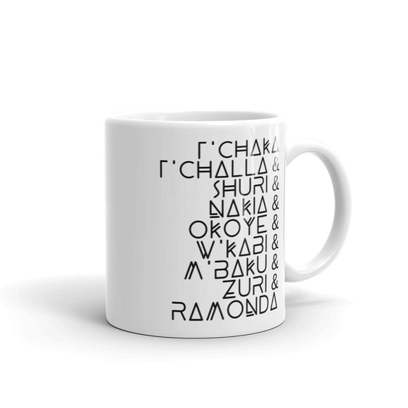 Black Panther Royal Family Mug