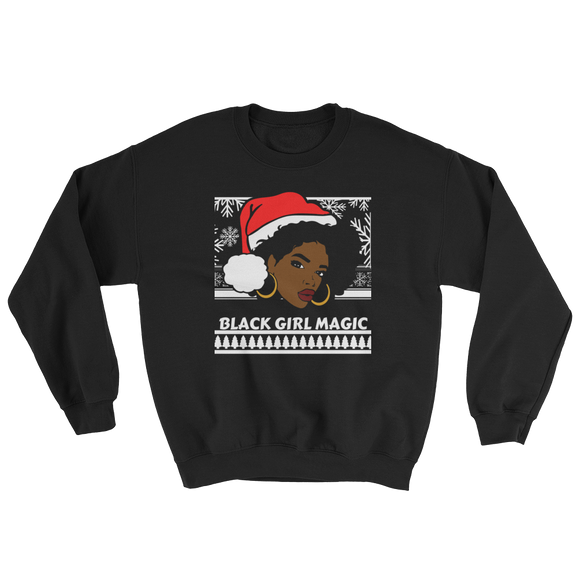 Black Girl Magic Ugly Christmas Sweater
