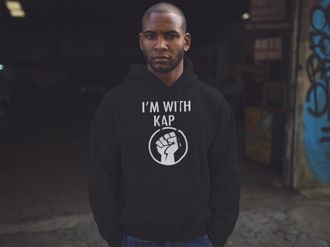 I'm With Kap - Unisex Hooded Sweatshirt