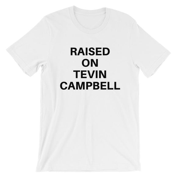 Raised on Tevin Campbell - Short Sleeve Tshirt