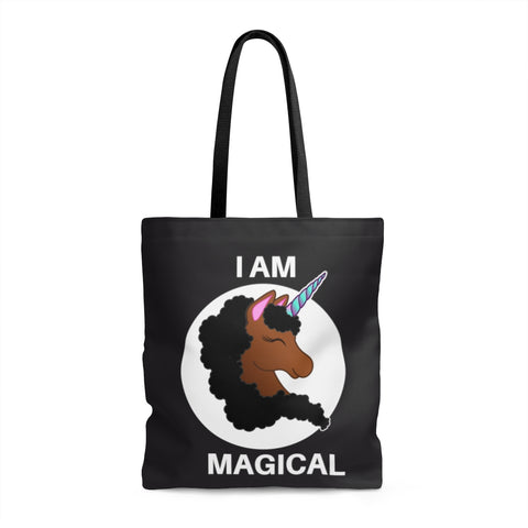 I am Magical Unicorn Tote Bag