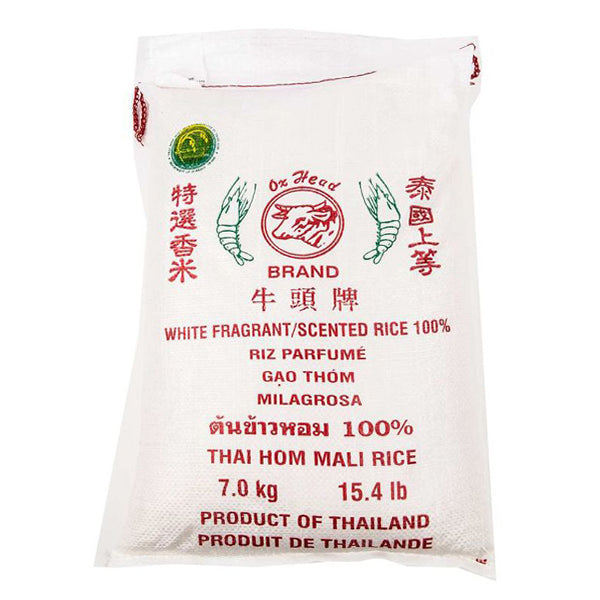 Ox Head White Scented Rice 7kg