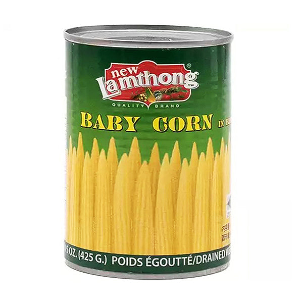 Lamthong Young Baby Corn In Brine 425g