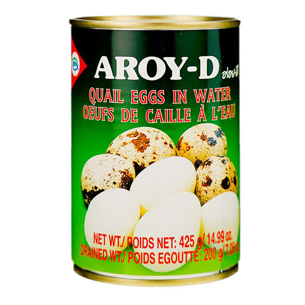 Aroy-D Quail Eggs In Water 425g