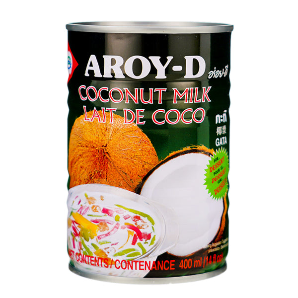 Aroy-D Coconut Milk For Dessert 400ml
