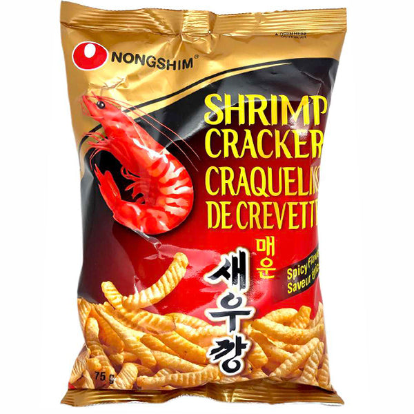 Nongshim Shrimp Cracker-Spicy 70g