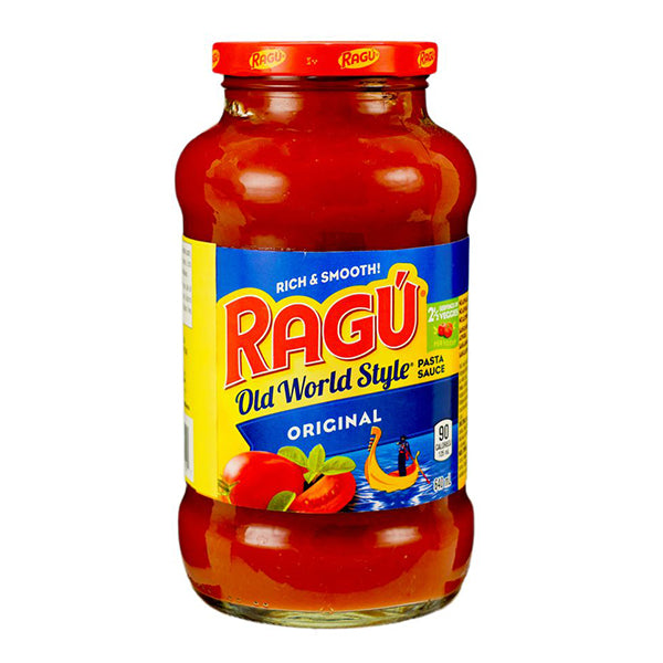 Ragu Old Style Pasta Sauce-Original 640ml
