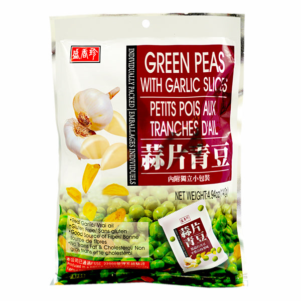 SXZ Green Peas Garlic Slices 140g
