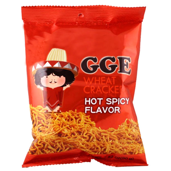 GGE Wheat Crackers-Hot Spicy 80g