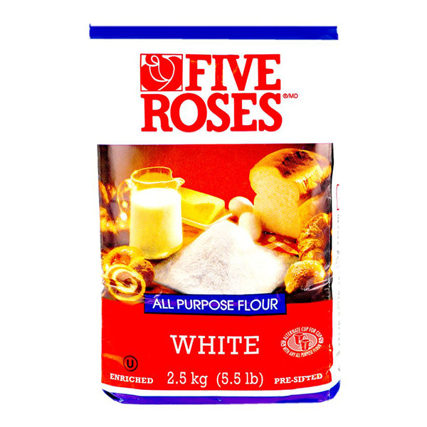 Five Rose White Flour 2.5kg