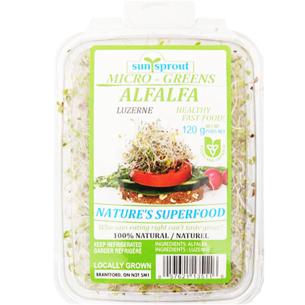 Sun Sprout Alfalfa Sprouts 120g