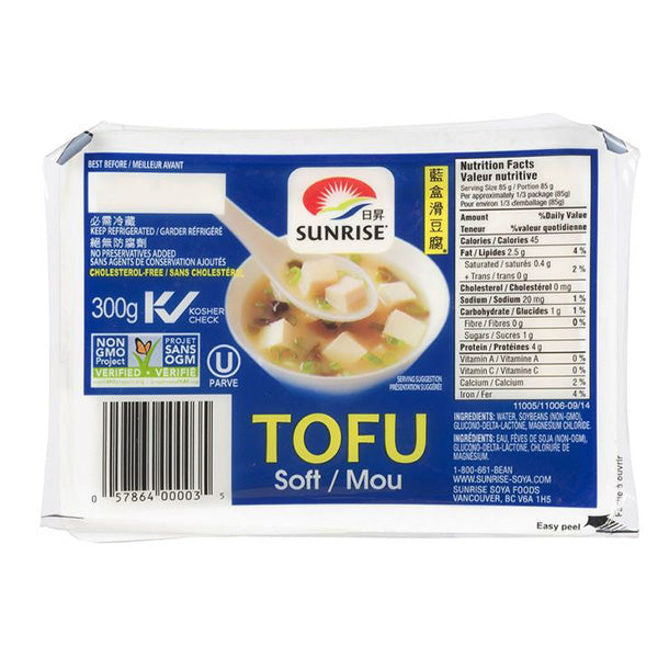 Sunrise Soft Tofu 300g