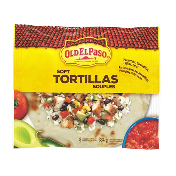 Old Elpaso Soft Tortillas 334g