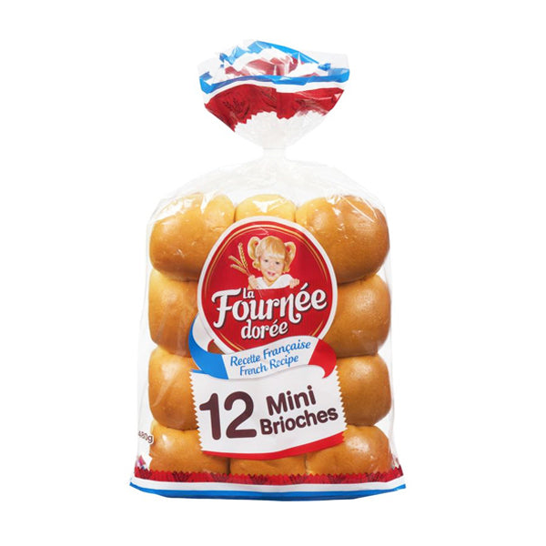 La Fournee Doree Brioche Mini Buns 480g