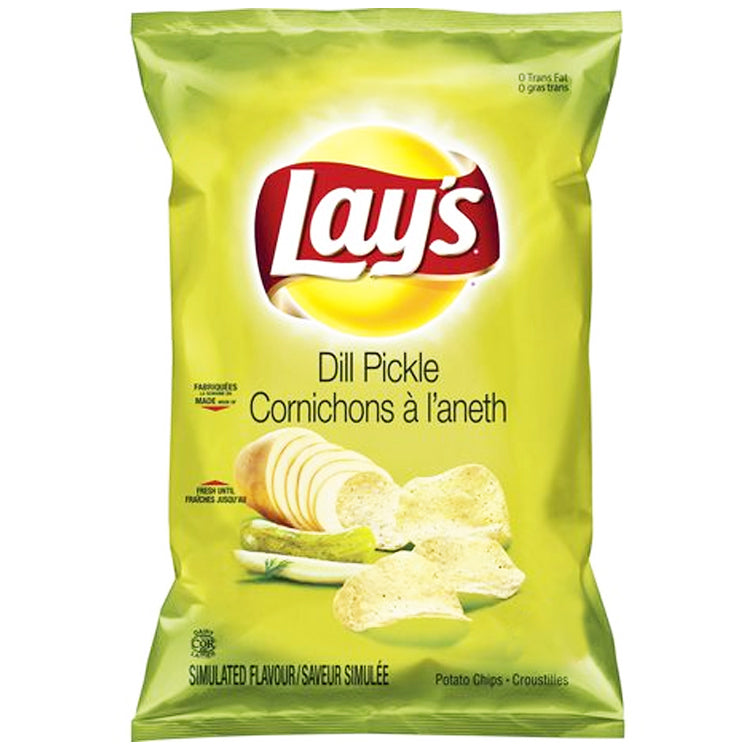 Lay's Potato Chips-Dill Pickle 165g