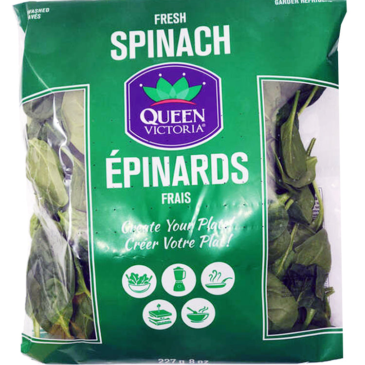 Queen Victoria Spinach 227g