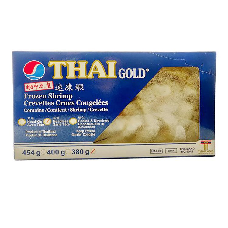 Thai Gold Frozen Shrimp Headless 26/30 380g