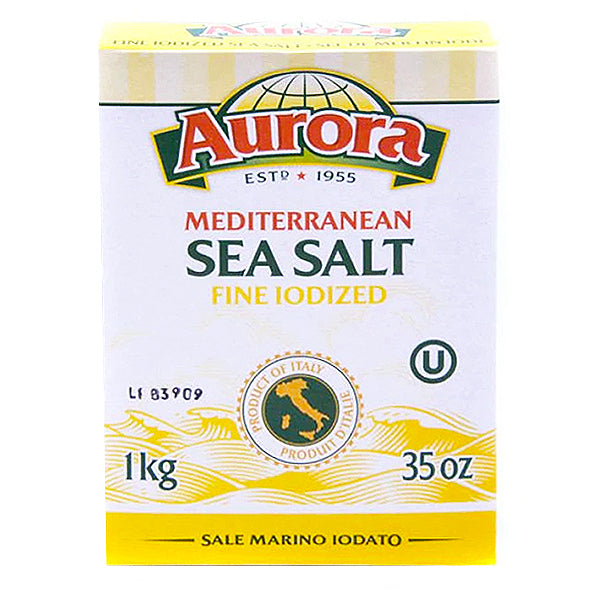 Aurora Sea Salt-Fine Iodized 1kg