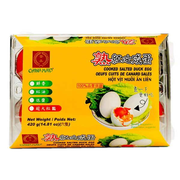 Chian Maid Cooked Salted Duck Egg 420g