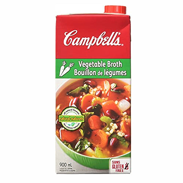 Campbell's Vegetable Broth 900ml