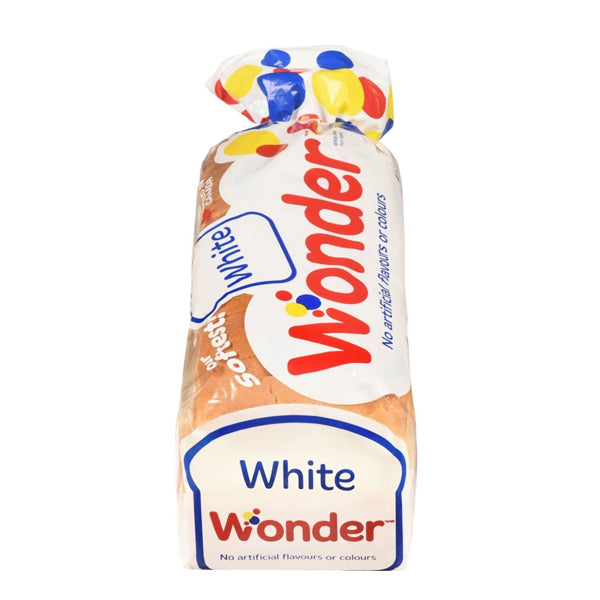 Wonder White Bread 675g