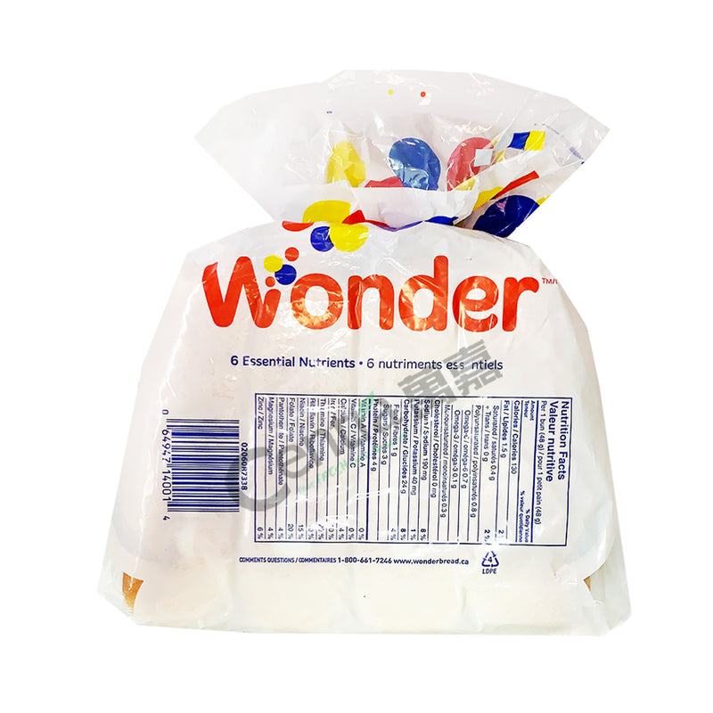Wonder Hot Dog Buns 384g
