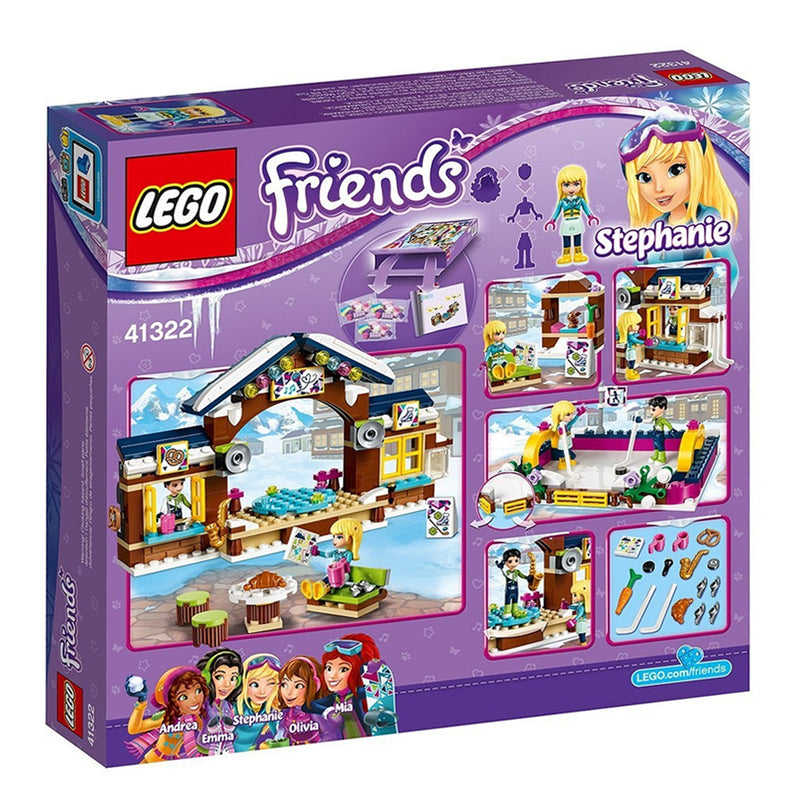 Lego Friends-Snow Resort Ice Rink 307pcs