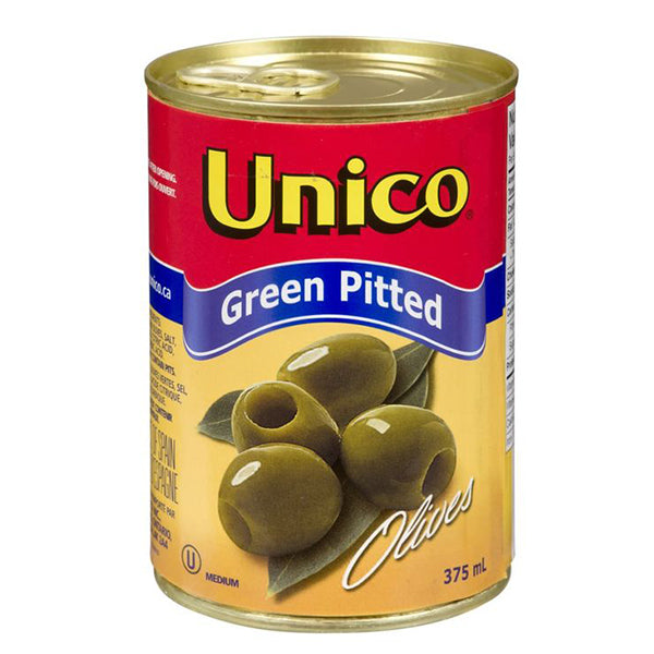 Unico Green Pitted 375ml