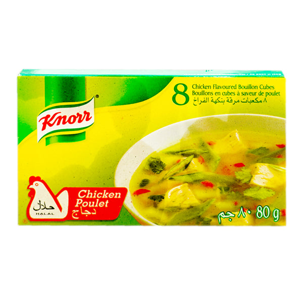Knorr Chicken Bouillon Cubes 80g