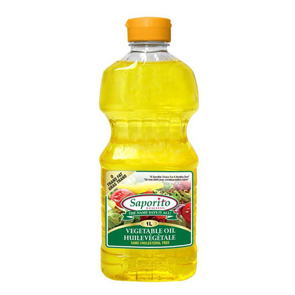 Saporito Vegetable Oil 1L