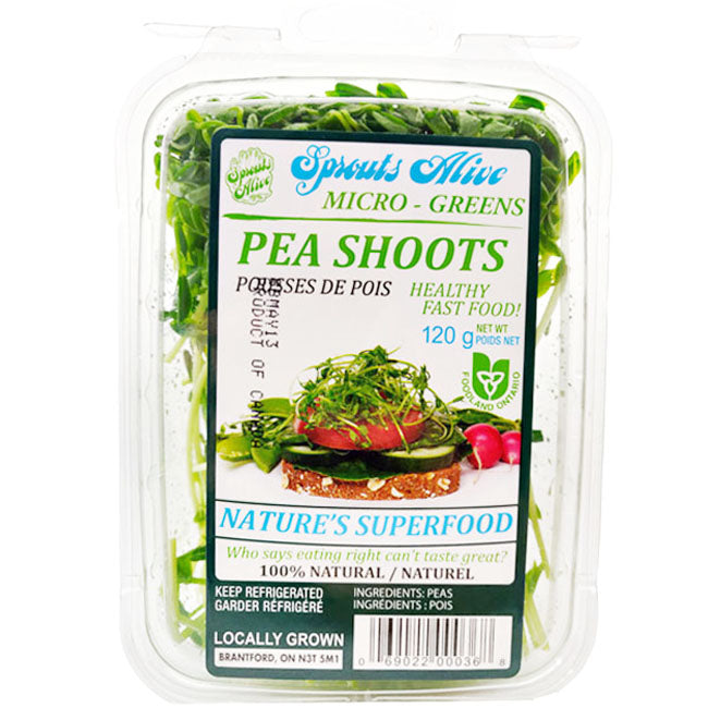 Sprouts Alive Pea shoots 120g