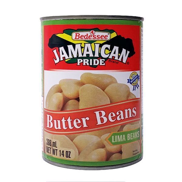 Jamaican Pride Butter Beans 398ml
